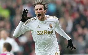 Michu has been injured for most of the campaign  (Image from Getty)