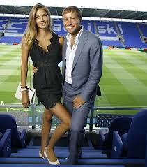 Anton Zingarevich and wife Katsia  (Image from Getty)