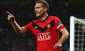 Heading for the Exit - Vidic  (Image from Getty)