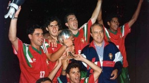 Portugal were the winners of the 1991 FIFA World Youth Championships  (Image from Getty)