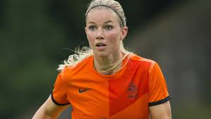 Dutch defender Anouk Hoogendijk has joined Arsenal  (Image from Getty)
