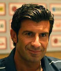 Figo played alongside Serhiy Scherbakov at Sporting  (Image from Wikipedia)