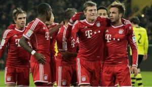 Bayern sealed the title with seven games left (Image from AFP)