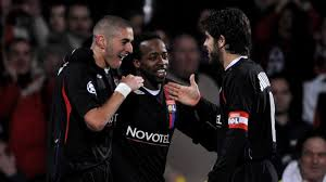 Lyon dominated French football thanks in part to Benzema and Juninho  (Image from Getty)