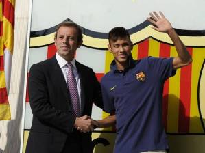 Smoke and Mirrors - The Deal that Brought Neymar to Barca led to Rosell resigning (Image from PA)