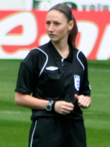 Sian Massey is now an established Premiership assistant  (Image from PA)