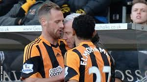 Pardew in deep water for headbutt (Image from PA)