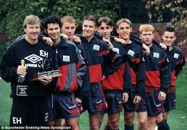 Ferguson benefited from United's golden generation  (Image from Manchester News)