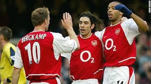 Henry, Bergkamp and Pires inspired Arsenal to the title  (Image from PA)