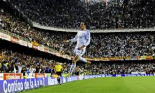 Bale celebrates scoring his wondergoal (Iamge from Getty)