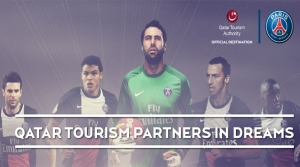 PSG and Qatar Tourism Authority ink major sponsorship deal  (Image from PSG)