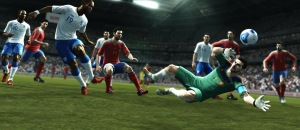 Platini compared goal line technology to Playstation Football  (Image from PES)