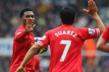 Starting Pair - Lambert faces a challenge to displace Suarez and Sturridge  (Image from Getty)