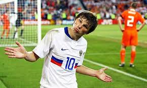 Arshavin's international career looks to be over  (Image from Getty)