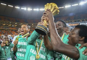 Nigeria win the African Cup Of Nations  (Image from Getty)