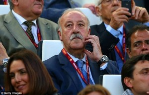Will Del Bosque risk selecting Costa?  (Image from Getty)