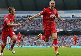 Rickie Lambert has fired Southampton to an 8th place finish  (Image from Getty)
