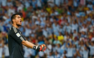 Safe Hands - Romero  (Image from AFP)