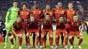The current crop of Belgium stars (Image from PA)