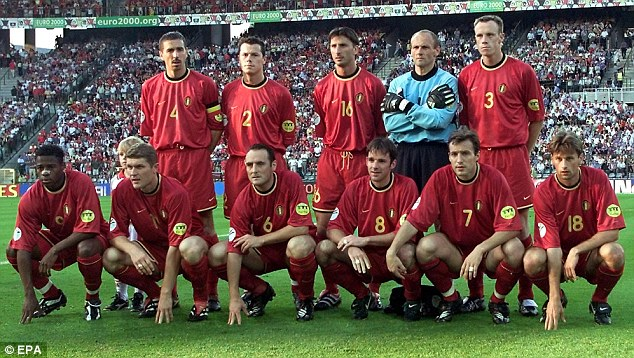 The failure of Euro 2000 was a blessing in disguise for Belgium (Image from AFP)
