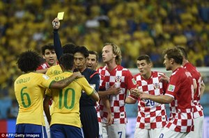 Strange decisions by Yuichi Nishimura could have been prevented by FIFA embracing technology (Image from AFP/Getty)