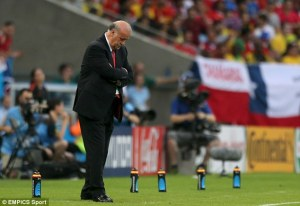 Questions will be asked about Del Bosque's tactical decisions  (Image from EMPics Sport)