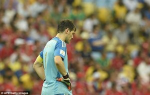 The backlash on Casillas from the media has been unwarranted given what he has done for Spain over the past 10 years  (Image from Getty)