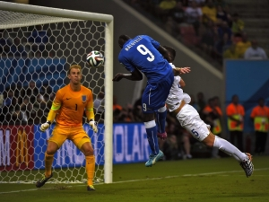 Balotelli breaks English Hearts  (Image from pa)