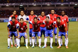 Costa Rica will relish the underdog tag (Image from AFP)