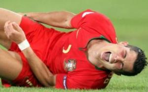 Ronaldo enters the World Cup with several niggling injuries (Image from PA)