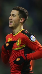 Eden Hazard is one of Belgium's best players (Image from PA)