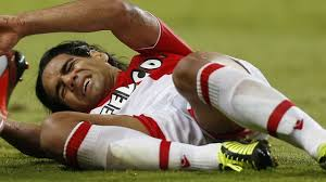 Falcao's knee injury has ruled him out of the World Cup (Image from AFP)