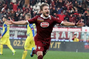 Immobile in action for Torino  (Image from AFP)