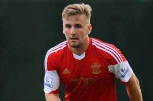 United bound? - Luke Shaw  (Image from AFP)