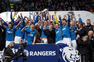 Rangers are potentially one season away from returning to Scotland's top flight  (Image from PA)