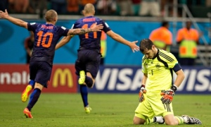 Casillas concedes his performance was unacceptable  (Image from Getty)