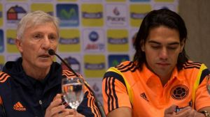 A dejected Falcao accepts defeat  (Image from Getty)