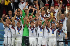 World Cup winners, Germany  (Image from PEDRO UGARTEPEDRO UGARTE/AFP/Getty Images)