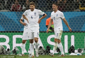 England crashed out early on in the World Cup (Image from Andy Hooper)