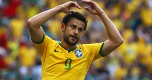 Fred's ineffective performances up front cost Brazil (Image from AFP)