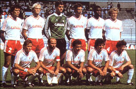Canada's only World Cup appearance was in Mexico 1986 (Image from Getty)
