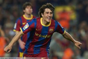 Krkic owns the record for all time leading goalscorer at La Masia (Image from Icon/Maddenfoot)