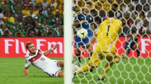 Gotze wins it for Germany (Image from AFP)