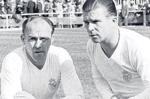 Unstoppable - Di Stefano and Puskas  (Image from Getty)