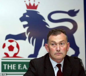 Reluctant Richard  - Richard Scudamore  (Image from PA)