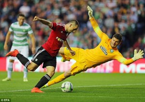 Forster's last game -  Could this be the end to Frazer's Celtic stay? (Image from Getty)