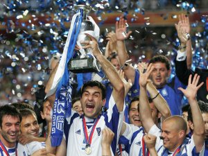 Greece shocked the world at Euro 2004  (Image from AFP)