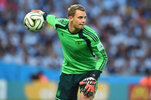 Neuer won the Wold Cup and Golden Gloves trophy in Brazil (Image from Getty)