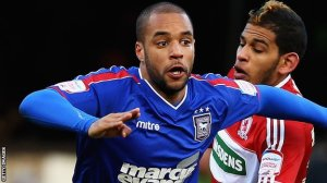 Ipswich striker David McGoldrick could be Premiership bound  (Image from Getty)