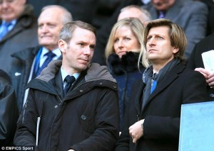 Ian Moody and Steve Parish have controlled the transfers at Palace this summer  (Image from EMPICS Sports)